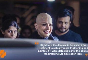 Sonali Bendre Cancer Treatment Positive Bioscience