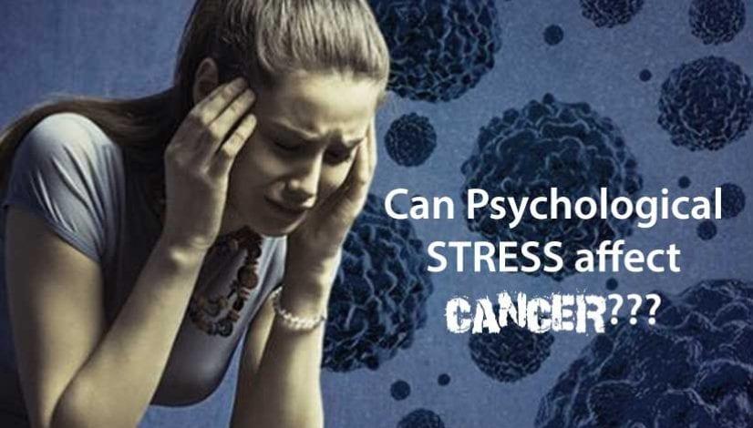 Psychological stress affecting cancer