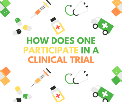 How does someone participate in a clinical trial
