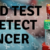 blood test detect cancer